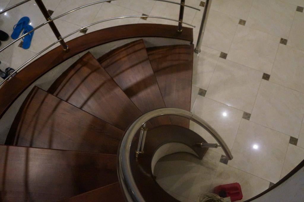 Немного о винтовых лестницах