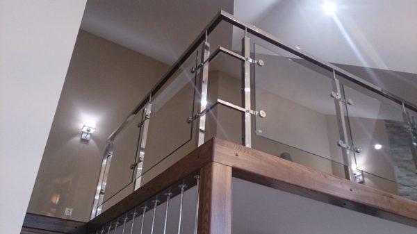 Перила для лестниц - все о них